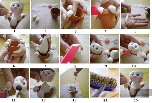 Как сделать игрушки из глины своими руками
