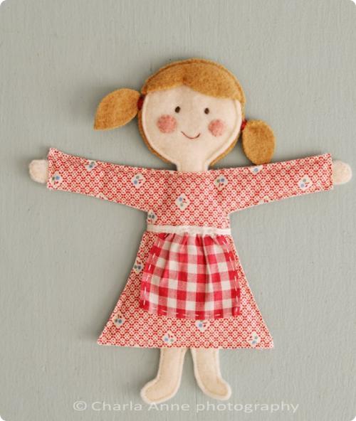 Куклы из картона своими руками для детей