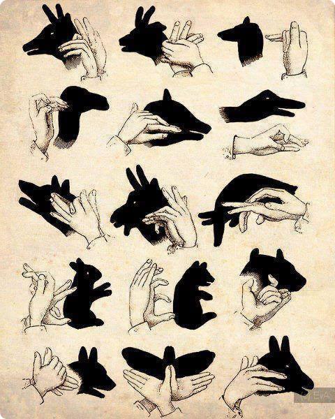 Чем на рисунках показывать тень