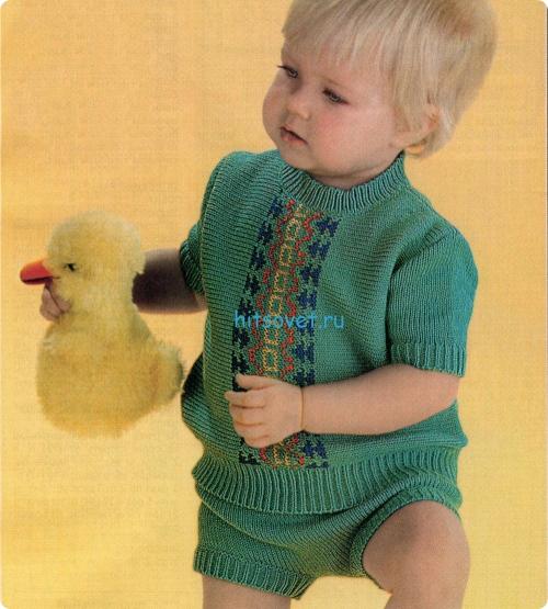 Вязание детское для мальчиков