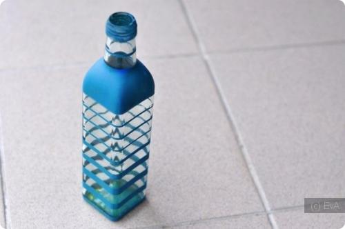 Как украсить пластмассовую бутылку