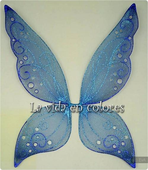 Как и из чего сделать крылья бабочки своими руками 58