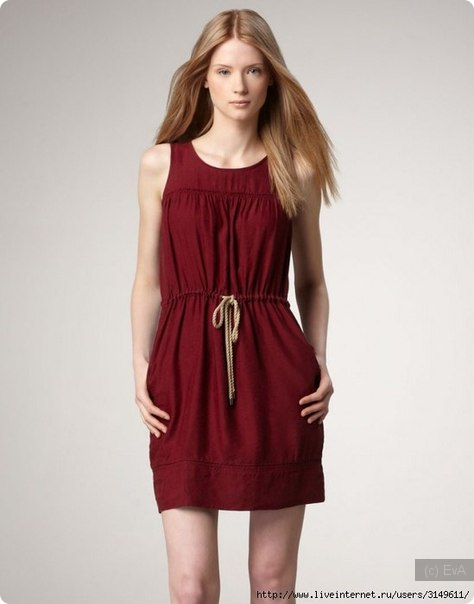 выкройка платья, выкройка сарафана, простые выкройки,