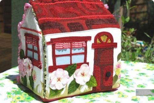 кукольный домик, текстильные домики,