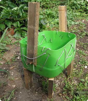Форма для садовой фигуры своими руками