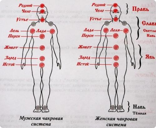 чакры славянские