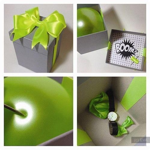 Оформление подарков на день рождения своими руками