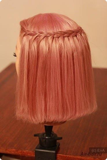 Как из средних волос сделать каре