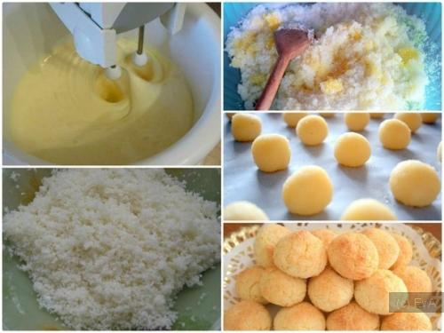 Рецепт выпечки с кокосовой стружкой фото