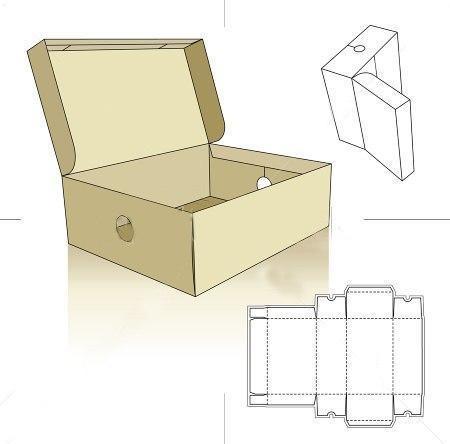 Как сделать эскиз коробки