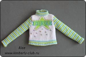 Как куклу сшить свитер